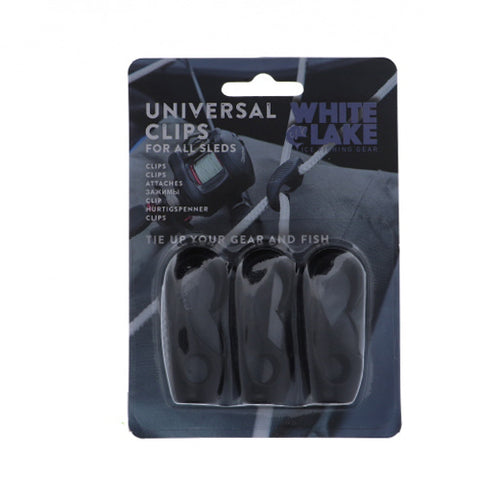 White Lake Universal Clips 3pcs/set