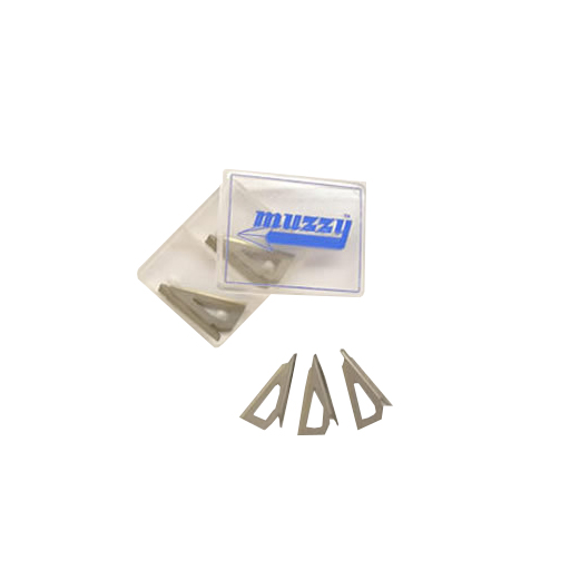Muzzy -  3-blade replacement blades for 235 and 325-R (125gr)