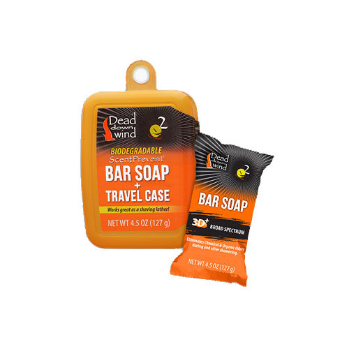 Dead Down Wind Bar Soap W/Travel Case