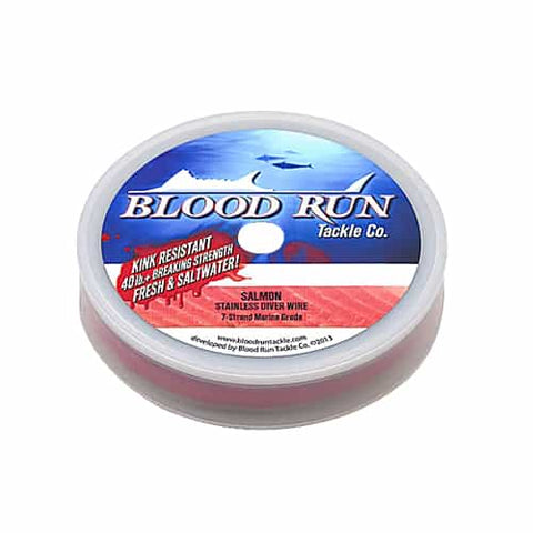 Blood Run 30lb Stainless Steel Trolling Wire
