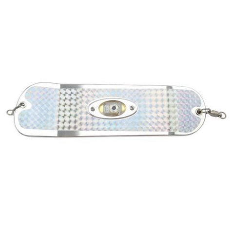 Pro Troll Proflash Lighted Prochip Fin Flasher W/Echip Chrome 8""