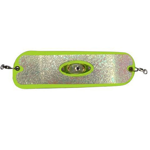 Pro Troll Proflash Lighted Prochip Fin Flasher W/Echip Glow Chartreuse 8""