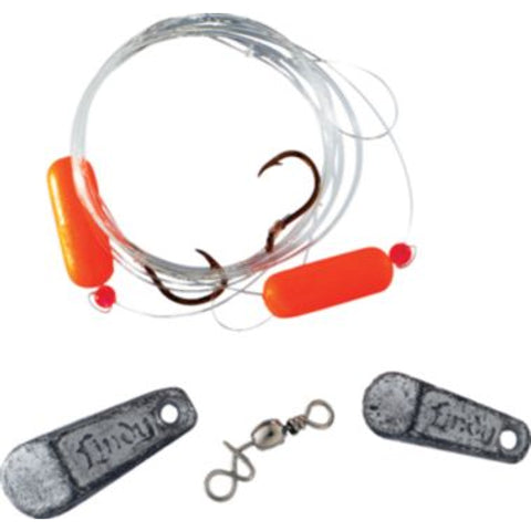 Lindy Floating Rig Crawler & Leech 1pk