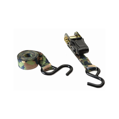 HME Camoufage Ratchet Tie Down 4PK