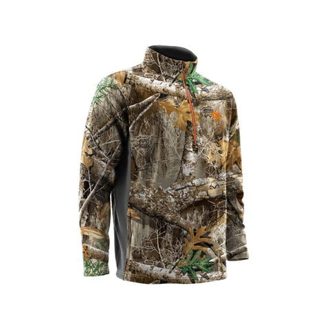 Nomad Southbounder Camo 1/4 Zip
