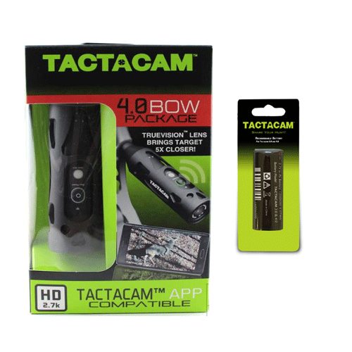 Tactacam 4.0 W/Black Stabilizer and Extra Battery