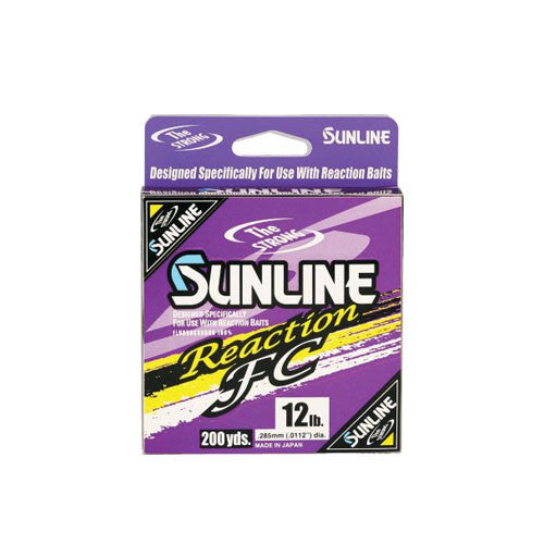 Sunline Reaction FC 100 Percent Flourocarbon