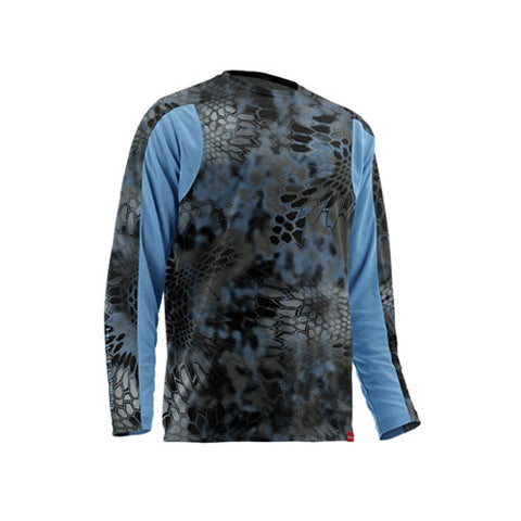 Huk Mens Trophy Kryptek Long Sleeve
