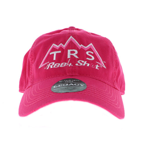 TRS Logo Magenta EZY w/Champ TRS White/Pink Cap