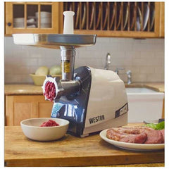 Weston Electric Meat Grinder, Sausage Stuffer Heavy Duty #8