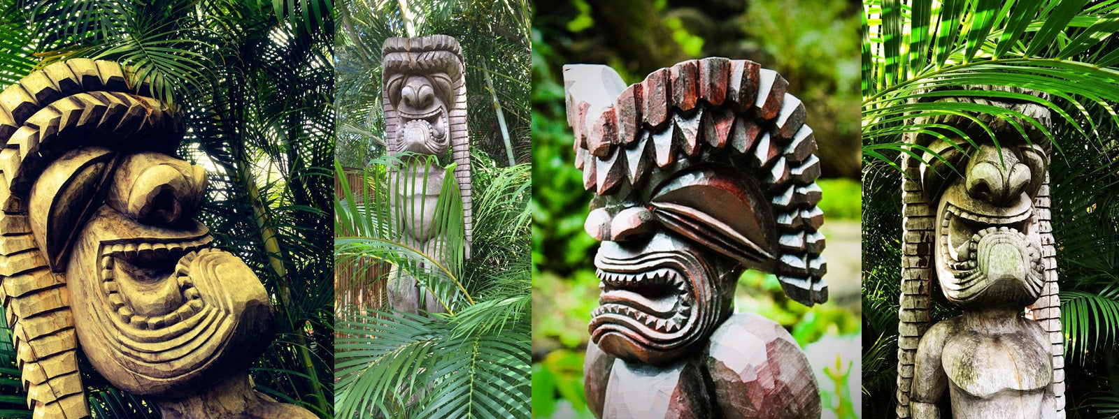 Tiki Gods of Hawaii - Makana Hut