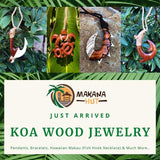 Makana Hut Koa Wood