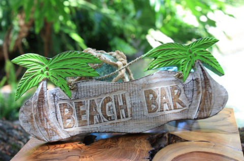 Beach Bar Sign Bar Decor