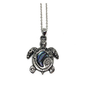 Honu with Paua Shell | Tropical Necklace - Makana Hut