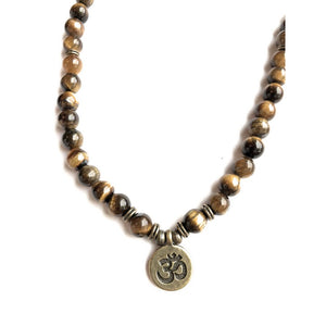 Tiger Eye Necklace or Bracelet | Tropical Jewerly