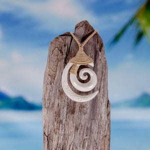 Koru Spiral Necklace