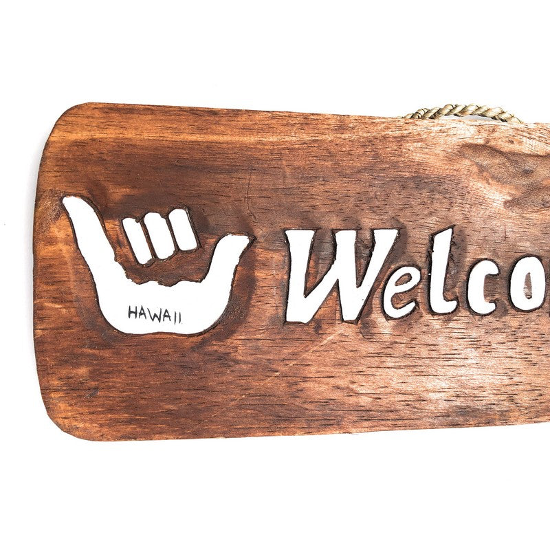 Welcome with Shakas | Tiki Bar Sign