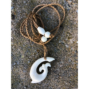 Hawaiian Fish Hook Necklace w/ Engraving