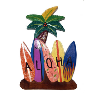 Aloha Sign with Surfboards | Hawaiian Signs