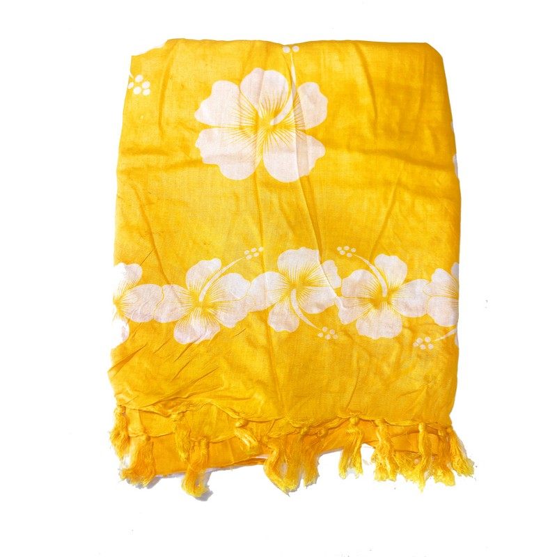 Yellow Hibiscus Flowers | Pareo