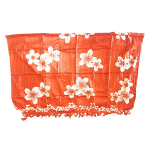 Orange with Plumeria Flowers | Pareo
