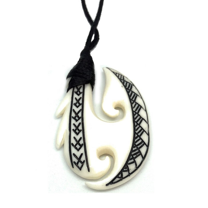Fish Hook Necklace | Hawaiian Makau | Makana Hut