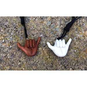 Shaka Bone Necklace| Hawaiian Style