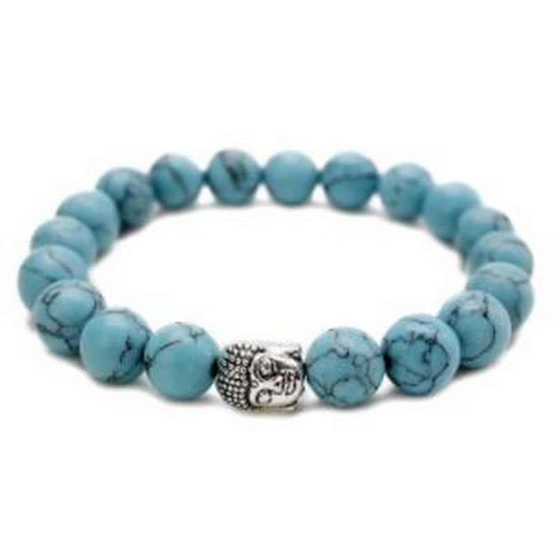 Buddha Ocean Beaded Bracelet | Tropical Jewelry