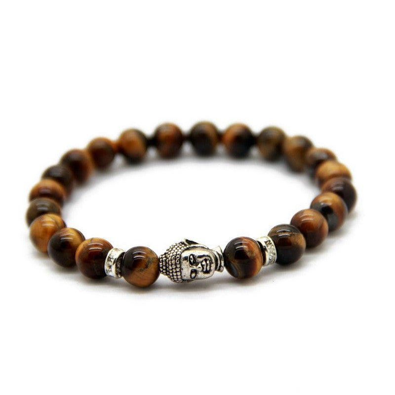 custom eye bracelets bracelet initials stone name canterbury natural product tiger untitled men series bead for personalised beaded the gold