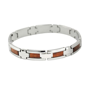 Koa and Tungsten Bracelet | Koa Jewelry