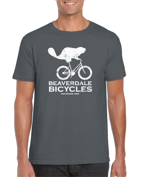 BEAVERDALE BICYCLES LOGO T-SHIRT: UNISEX