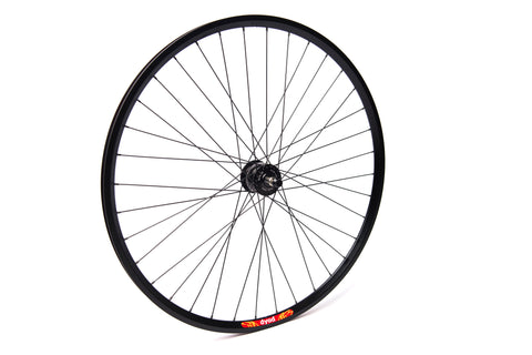 Schmidt SON28 Dyno (Disc Brake)  Black Hub / Velocity Dyad Black Rim / DT Swiss Champion Stainless Steel Spokes