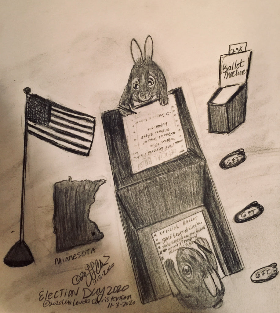"""Election Day"" The Courtly Cottontails 11/03/2020"