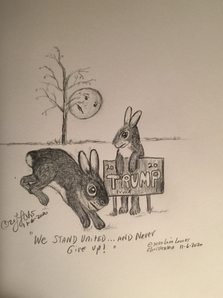 The Courtly Cottontails 11/06/2020 political cartoon