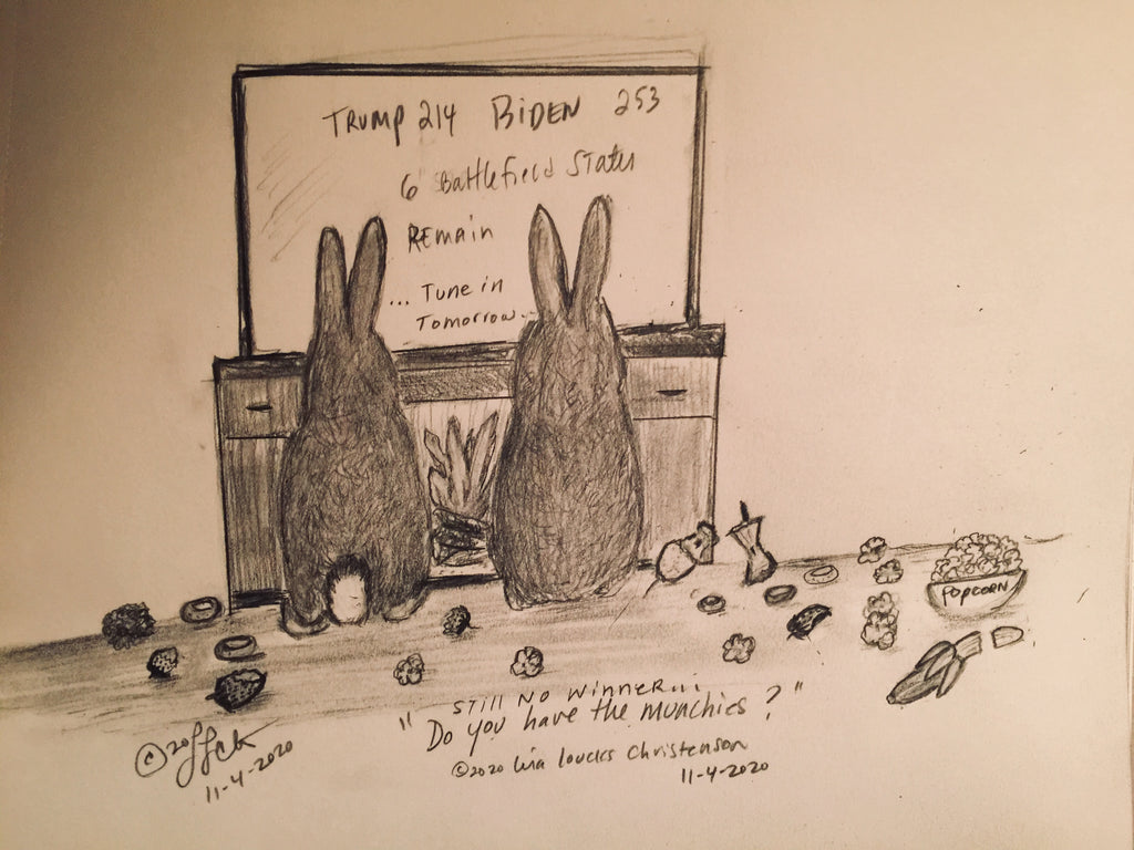 11/04/2020 Courtly Cottontails Political cartoon
