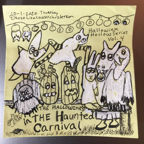Hallowink Hollow Series by Lisa Loucks-Christenson, The Haunted Carnival, Vol. 4
