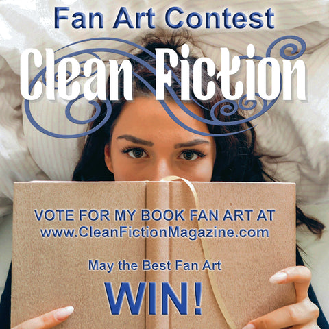 Vote for Me in the Clean Fiction Magazine Fan Art Contest