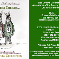 12-08-2020 Comic Panel, Courtly Cottontails: Our First Christmas