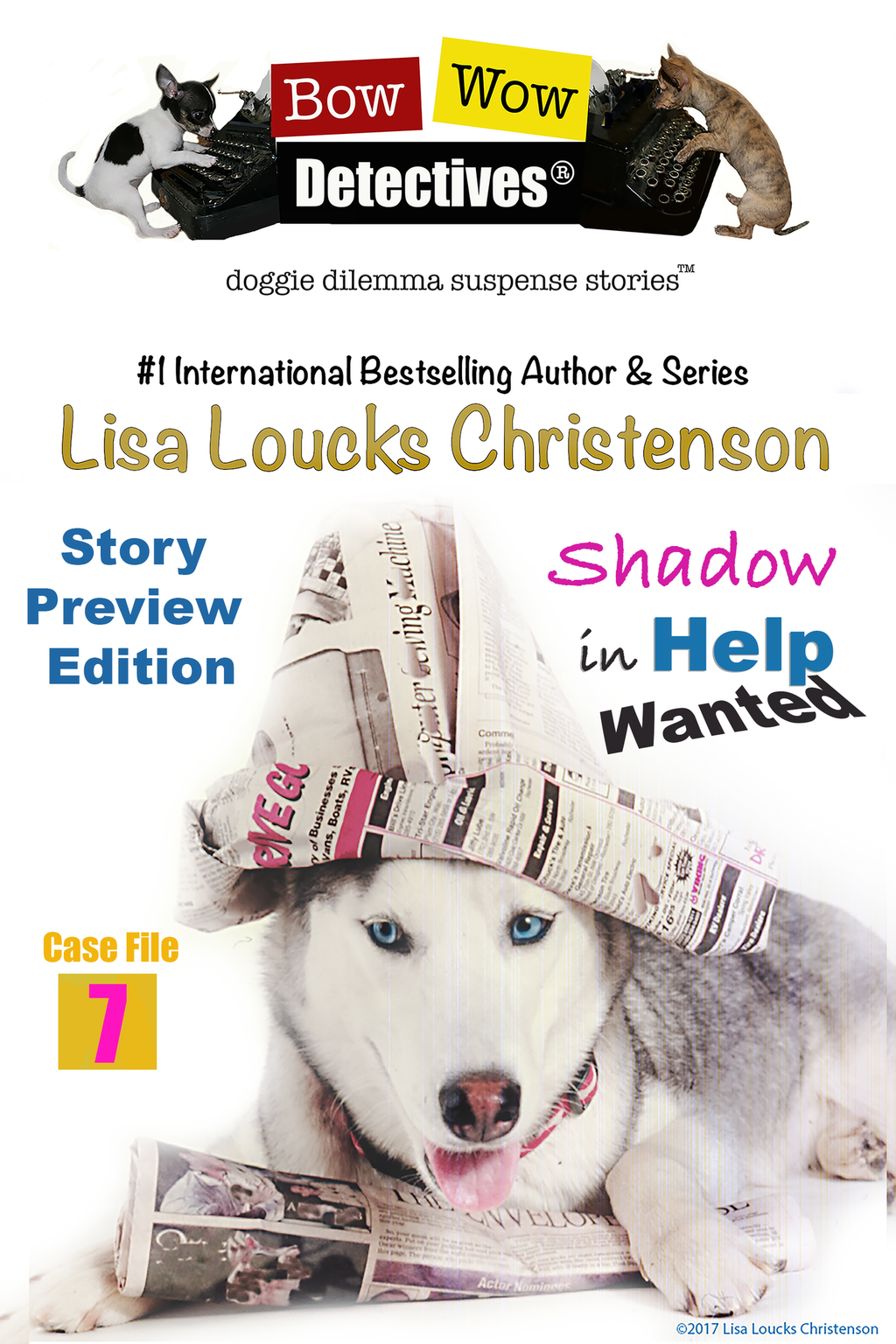 Shadow in Help Wanted, Case File 7, Bow Wow Detectives® | Story Preview Edition - Ebook