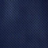 Perforated Cobalt Matte Leather