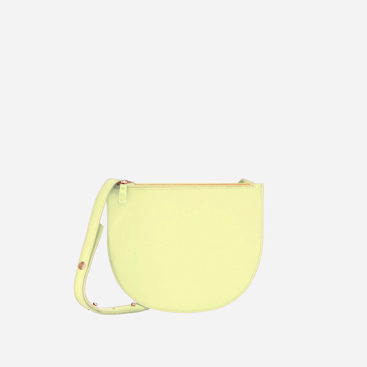 The Smile <br> Half Moon Crossbody Bag
