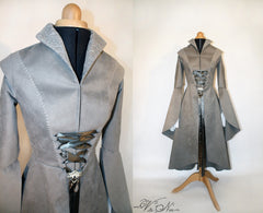 Arwen Riding Coat - The Lord of The Rings chase outfit costume