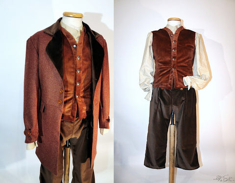 Frodo Baggins Costume - Lord of the Rings Larp Cosplay