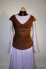 Eowyn Dress and Bodice - The Lord of the Rings Costume Gown