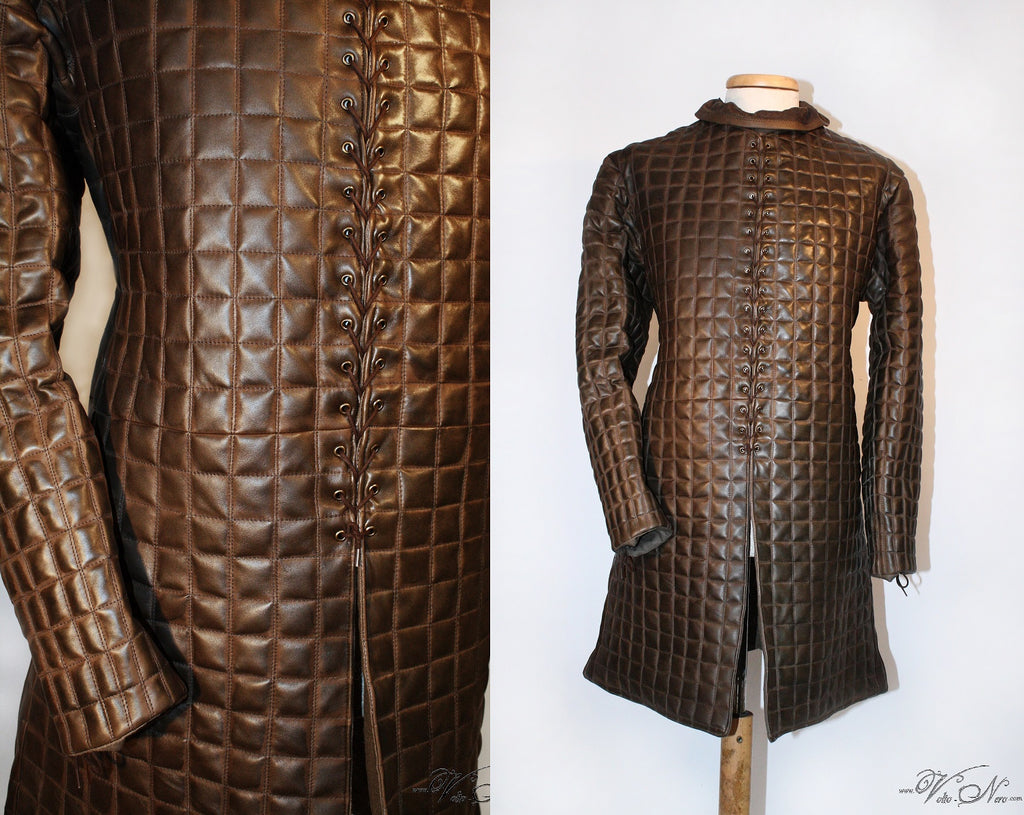 Jon Snow Game of Thrones Leather Gambeson Season 7 8 Cosplay Costume