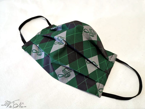 Face Mask Breathing Protection - Harry Potter Slytherin