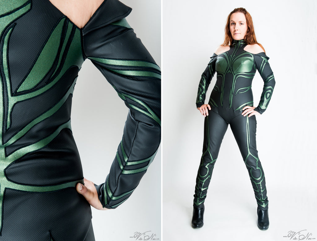 Hela Costume Thor Ragnarok Marvel Cinematic Universe Cosplay suit