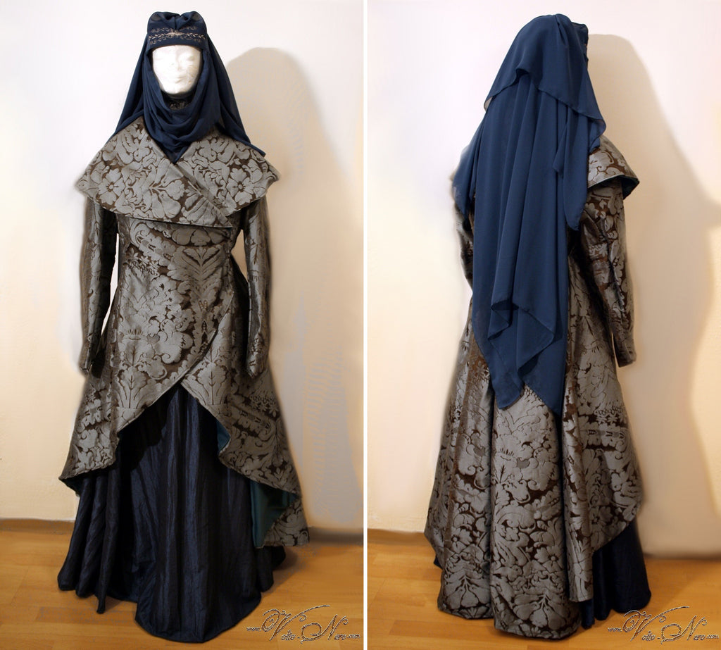 Lady Olenna Tyrell Queen of Thorns Game of Thrones cosplay costume gown