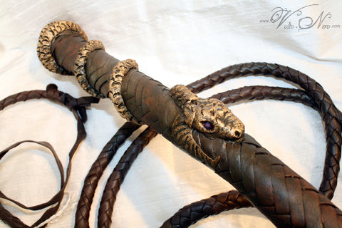 Nymeria Sand Snake Whip Dornish Costume Prop