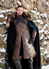 Jon Snow Game of Thrones Season 6 King in the North Cosplay Costume